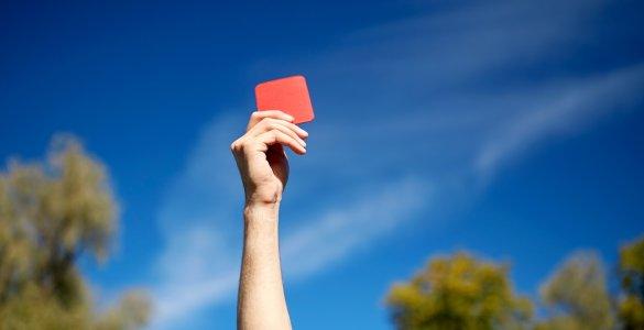 Rote Karte Schlaganfall